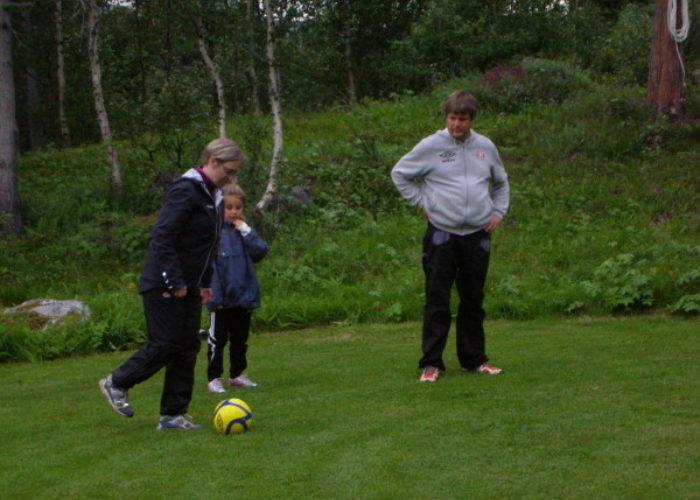 Øyom Park – fotball- og frisbeegolf