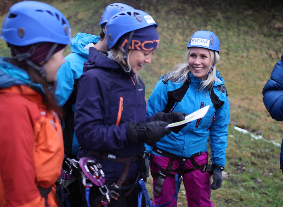 Teambuilding climbing park