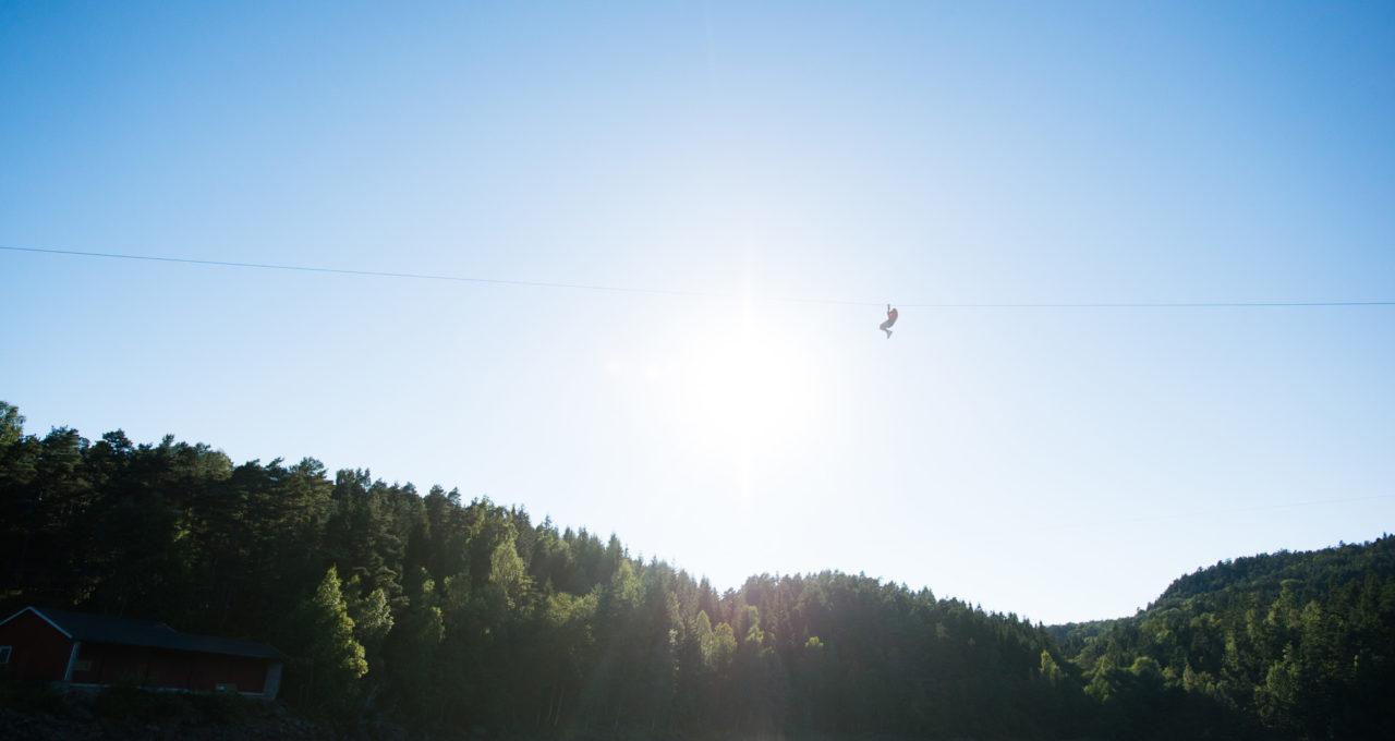 Fjellvåken zipline