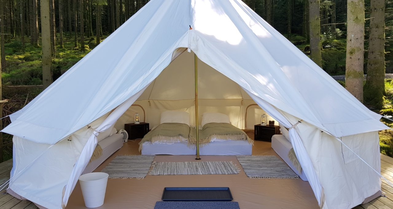 Glamorøs camping med plass til 4 personer