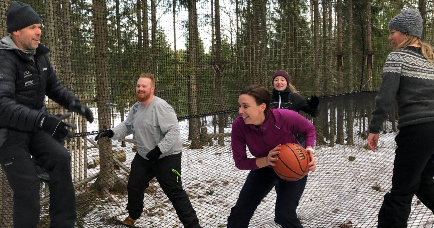 Sprettboks Høyt & Lavt Lillestrøm