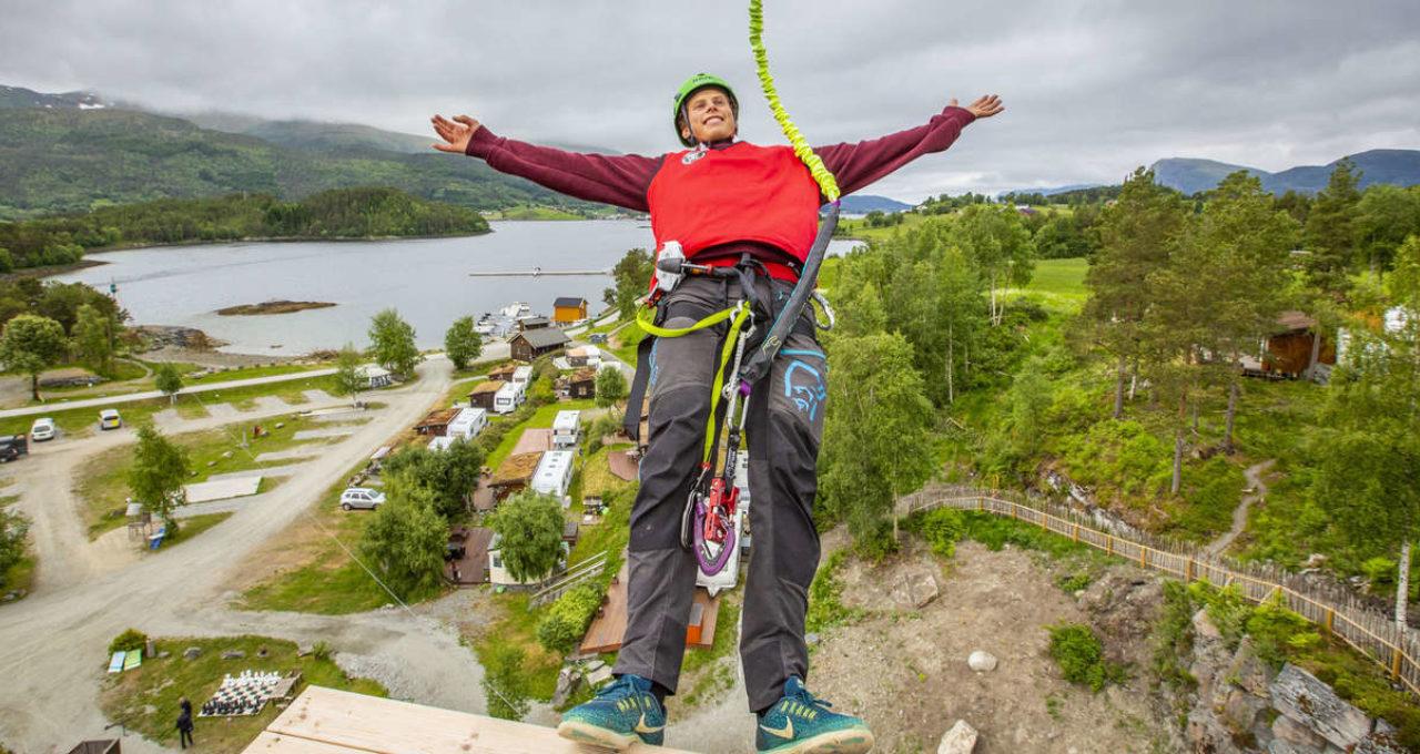 Havørna Quick-Jump - Høyt & Lavt Valsøya. Foto: Oddgeir Visnes